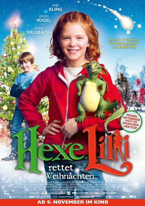 Hexe Lilli rettet Weihnachten Poster