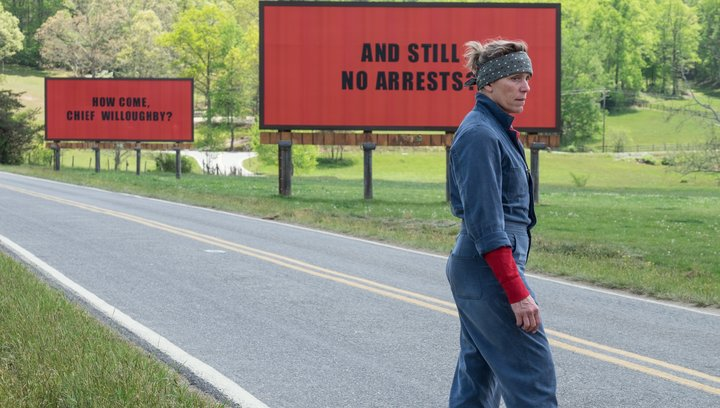 Three Billboards Outside Ebbing, Missouri - Trailer Poster
