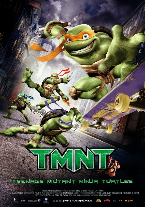 TMNT - Teenage Mutant Ninja Turtles Poster