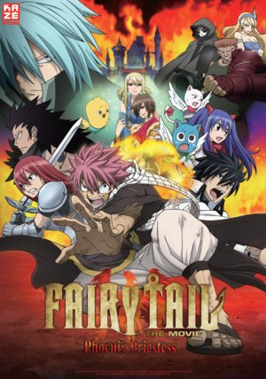 Fairy Tail: The Phoenix Priestess Poster
