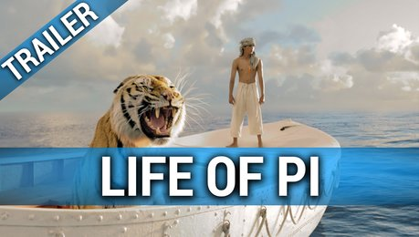 Life of Pi: Schiffbruch mit Tiger - Trailer Poster