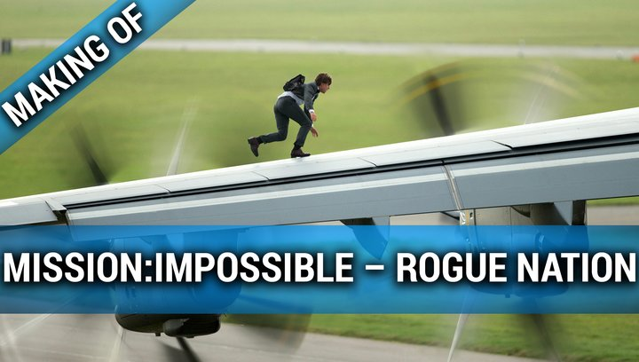 "Making Of ""Mission: Impossible – Rogue Nation"" Poster"