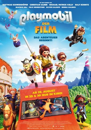 Playmobil - Der Film Poster
