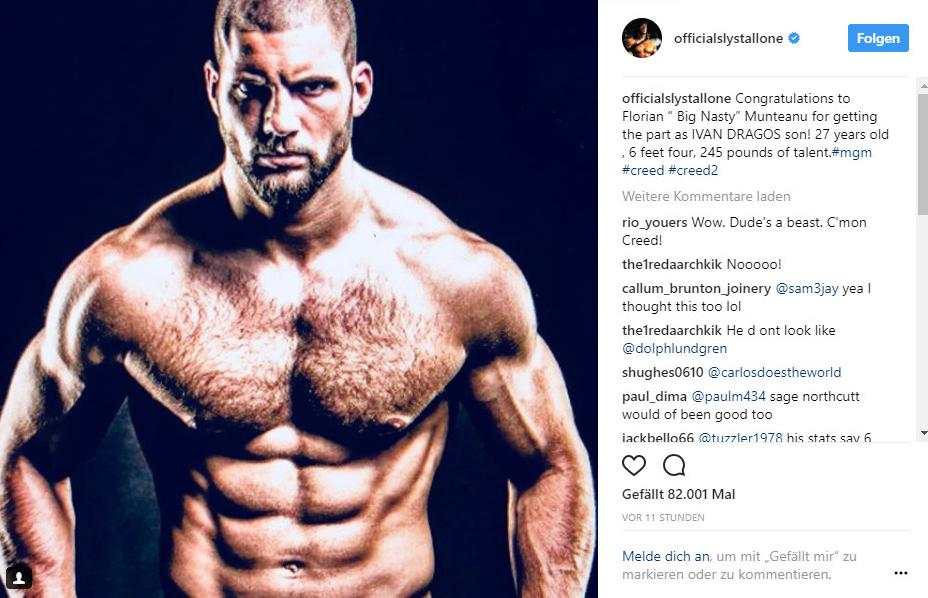 Deutscher Boxer Florian Munteanu spielt in