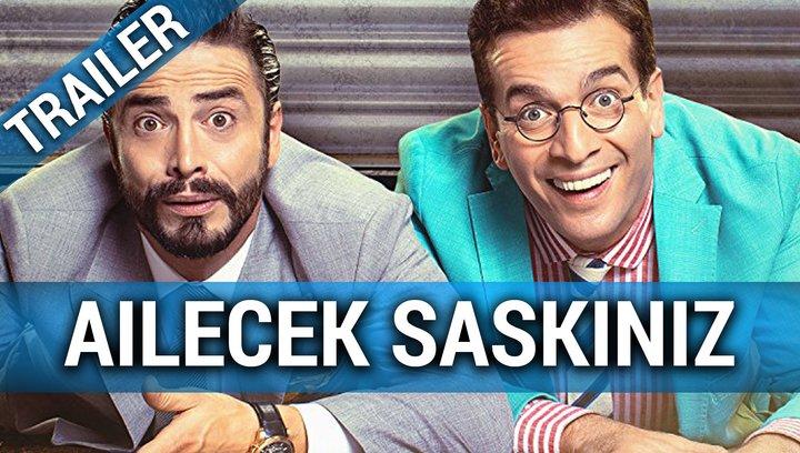 Ailecek Saskiniz (OmU) - Teaser Poster