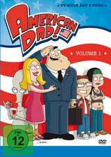 American Dad - Season 1 (3 DVDs) Poster