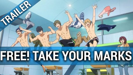 Free! Take your Marks - Trailer OmU Poster