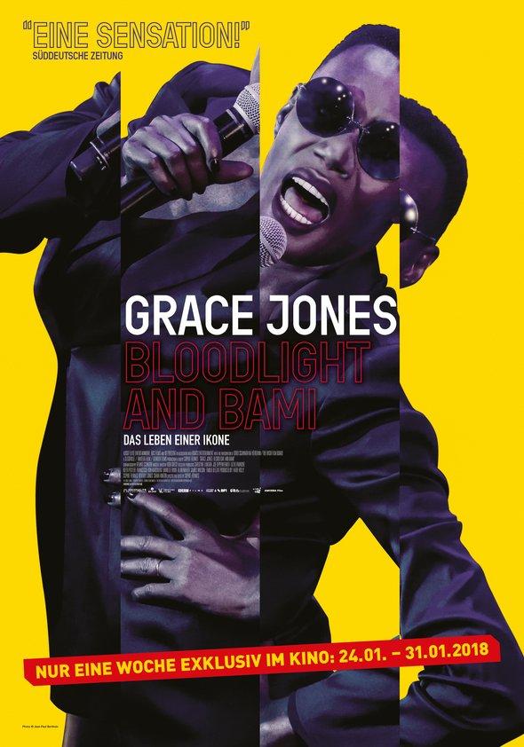 Grace Jones: Bloodlight and Bami Poster