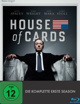 House of Cards - Die komplette erste Season (4 Discs) Poster