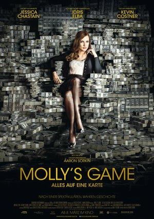 Molly's Game - Alles auf eine Karte Poster