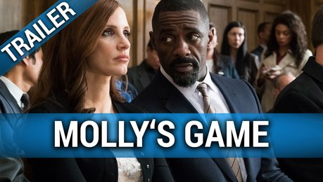 Molly's Game - Trailer Poster