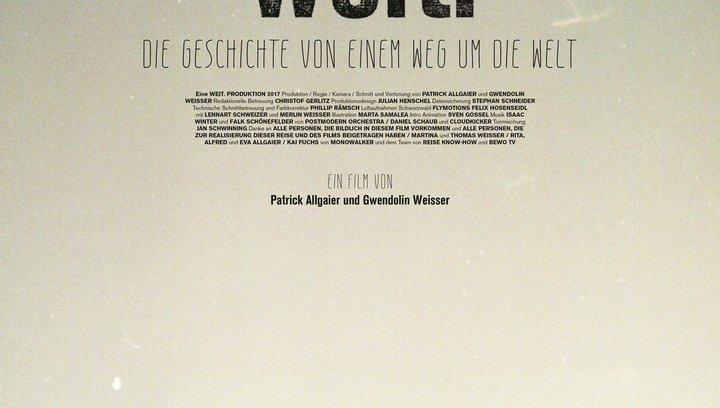 Weit. Die Geschichte von einem Weg um die Welt - Trailer Poster