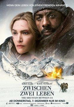 Zwischen zwei Leben - The Mountain Between Us Poster