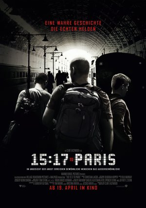15:17 to Paris Poster
