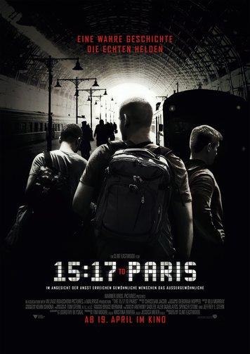15:17 to Paris Poster