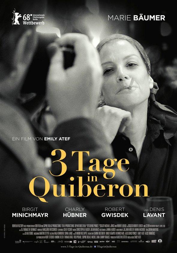 Plakat: Drei Tage in Quiberon
