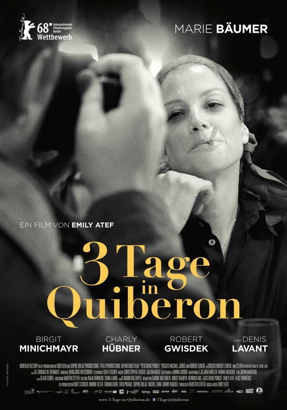 3 Tage in Quiberon Poster