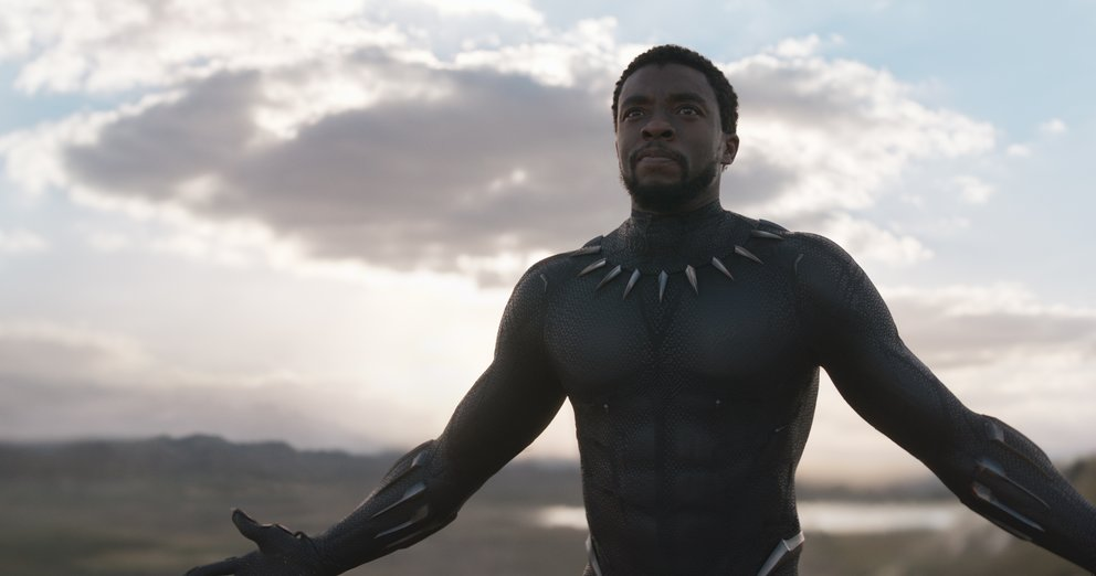 Chadwick Boseman als T'Challa in der Marvel-Comic-Verfilmung Black Panther © Disney