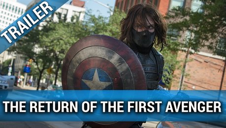 The Return of the First Avenger - Trailer Poster