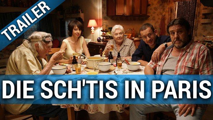 Die Sch'tis in Paris - Eine Familie auf Abwegen - Teaser Poster