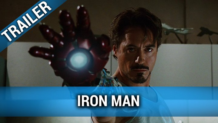 Iron Man - Trailer Poster