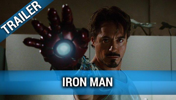 Iron Man - Trailer Poster