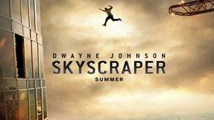 """Skyscraper"": Poster bringt Dwayne Johnson um & die Fans reagieren großartig"