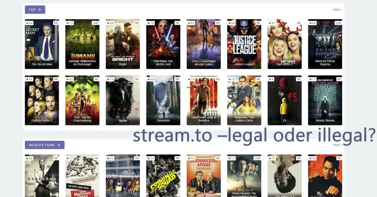 Streamto Kostenloser Stream Und Download Von Filmen Und Serien In