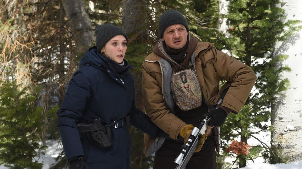 Wind River Jeremy Renner Elizabeth Olsen Kritik Kino