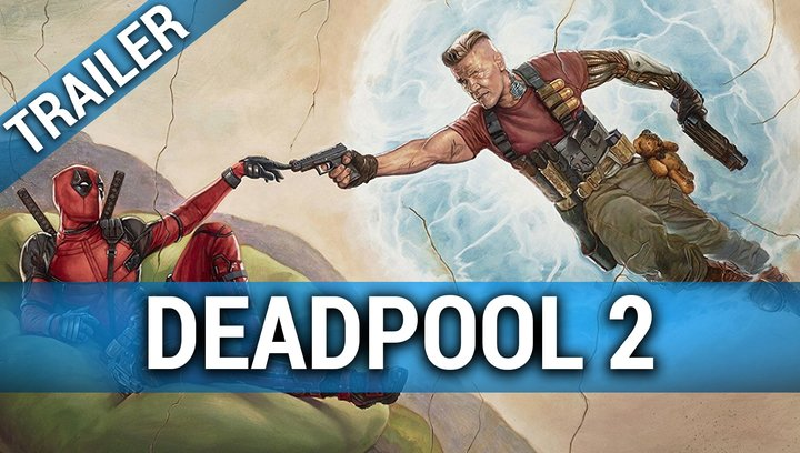 Deadpool 2 - Trailer Deutsch Poster