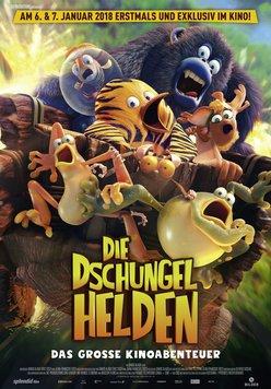 Die Dschungelhelden - Das große Kinoabenteuer Poster