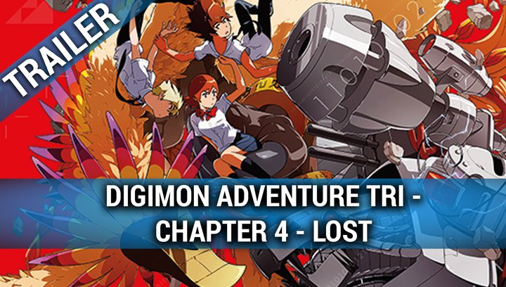 Digimon Adventure tri. - Chapter 4: Lost (OmU) - Trailer Poster