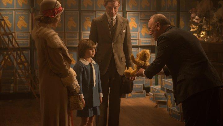 Goodbye Christopher Robin - Trailer Deutsch Poster