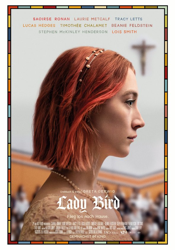 Plakat: LADY BIRD