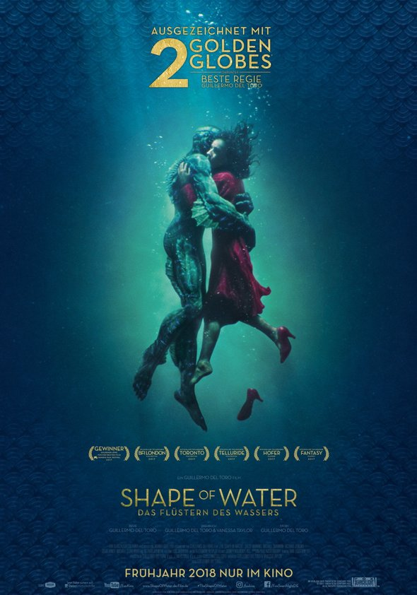 Plakat: THE SHAPE OF WATER