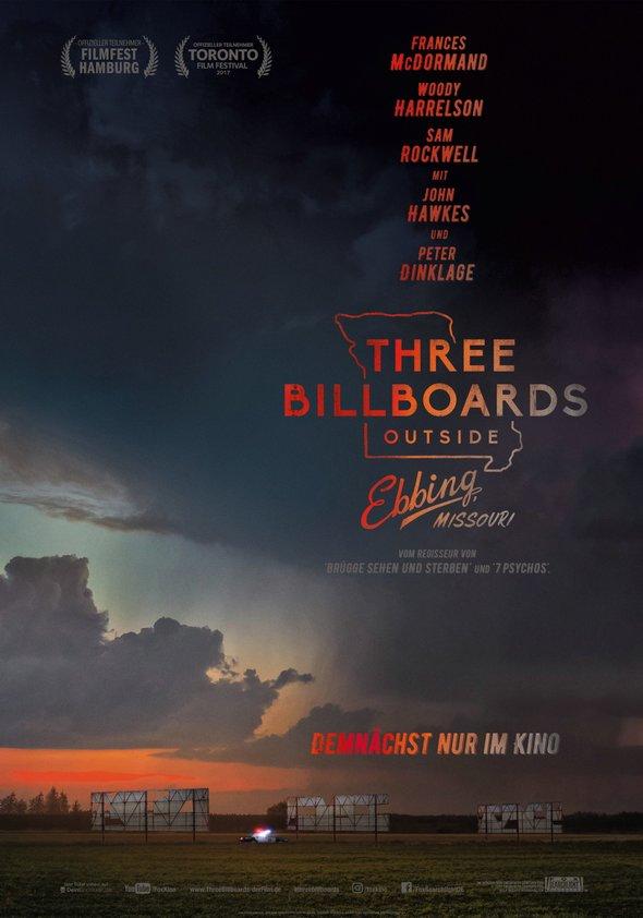 Plakat: THREE BILLBOARDS...