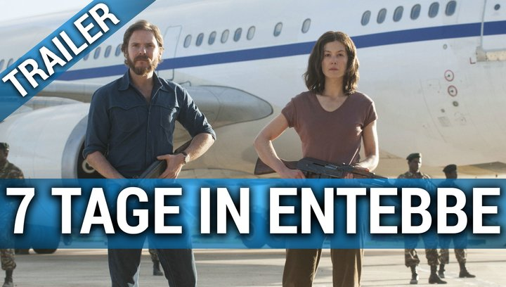 7 Tage in Entebbe - Trailer Poster