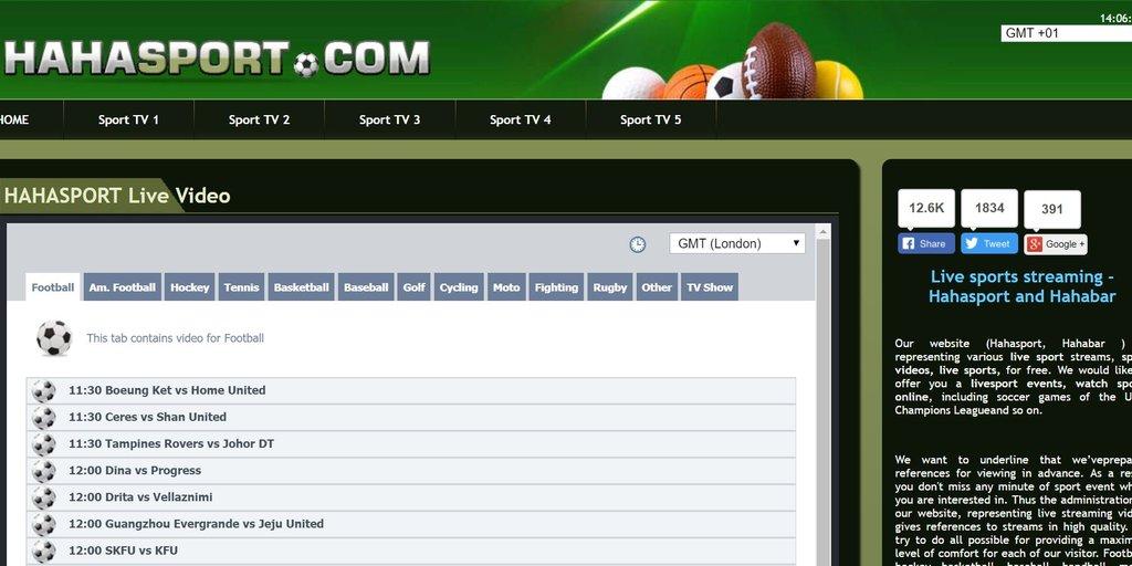 selezione migliore b6a2c 451c3 Hahasport – Fußball-Bundesliga und Champions League online ...
