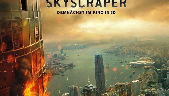 Skyscraper - Trailer Poster
