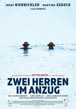 Zwei Herren im Anzug Poster