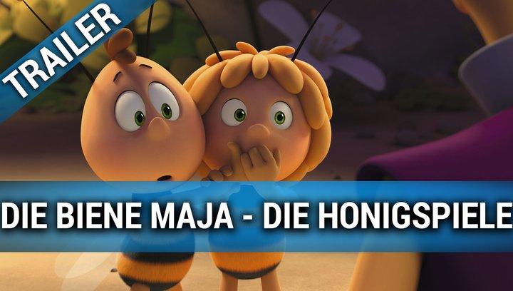 Die Biene Maja - Die Honigspiele - Trailer Poster