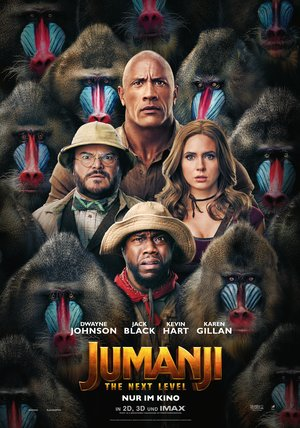 Jumanji 3: The Next Level Poster