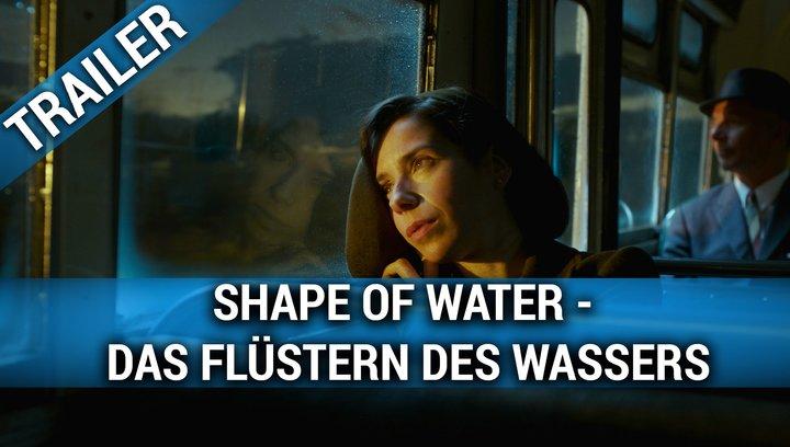 Shape of Water - Das Flüstern des Wassers - Trailer Poster
