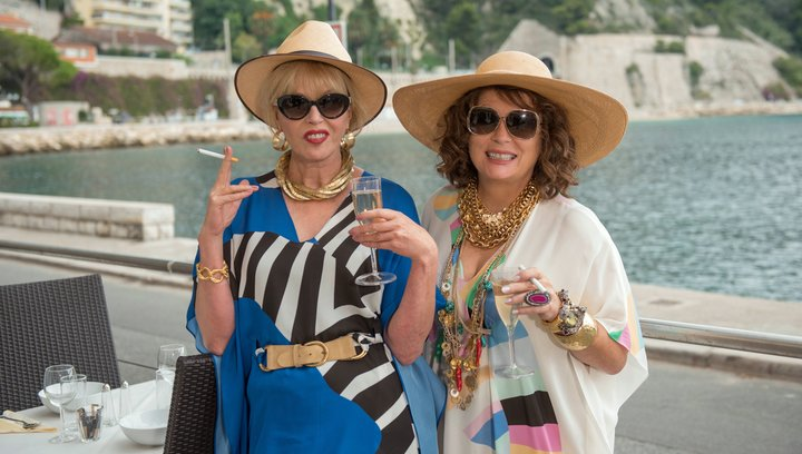 Absolutely Fabulous - Der Film - Trailer Poster