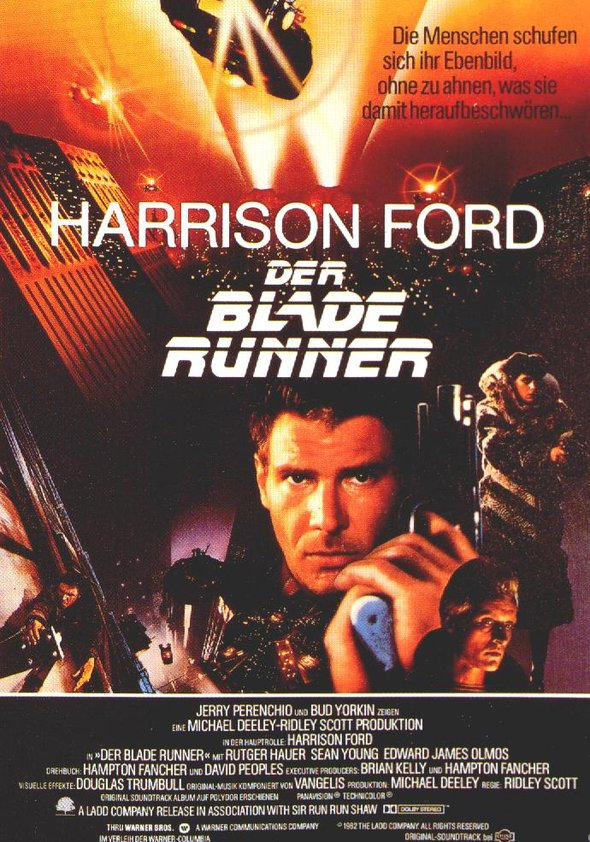 Der Blade Runner Poster