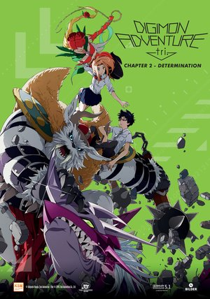 Digimon Adventure tri. Chapter 2 - Determination Poster