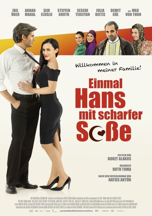 Einmal Hans mit scharfer Soße Poster