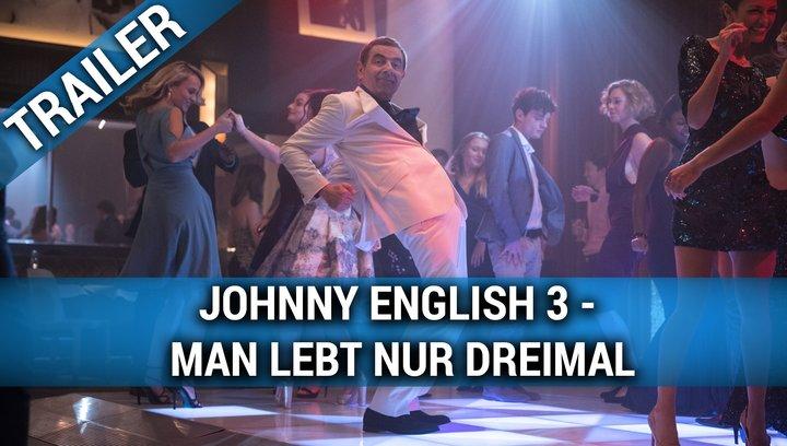 Johnny English 3 - Man lebt nur dreimal - Trailer Deutsch Poster