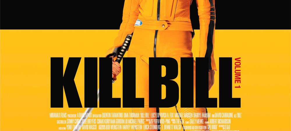 Kill Bill Vol. 1 Poster