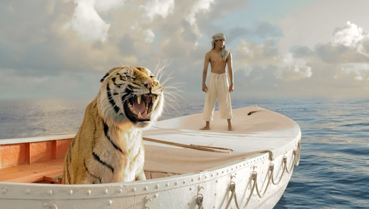 Life of Pi - Schiffbruch mit Tiger (BluRay-/DVD-Trailer) Poster